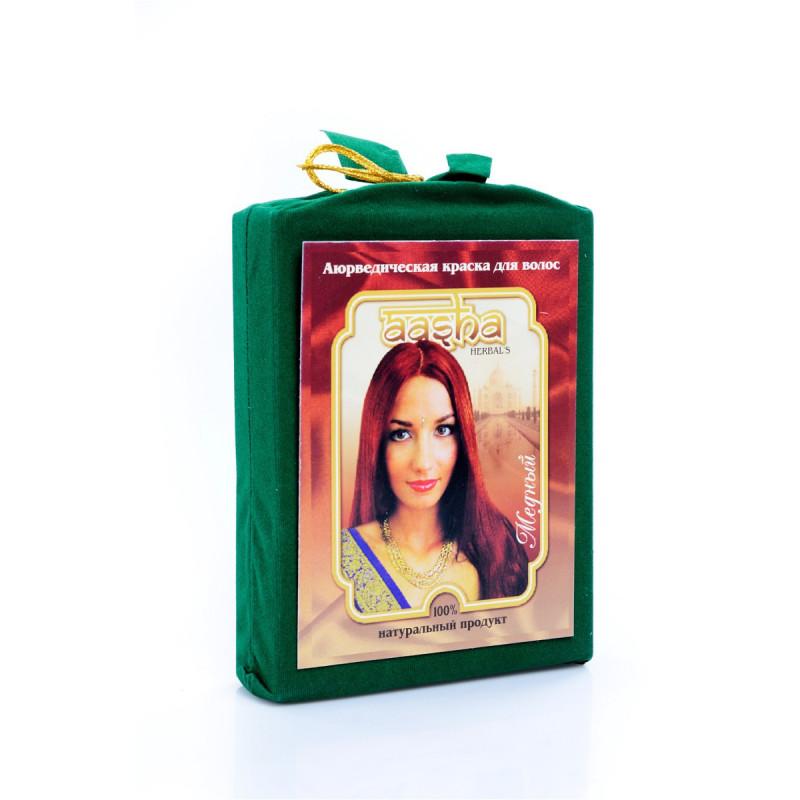 Aasha Herbals Аюрведичесая краска для волос Медный